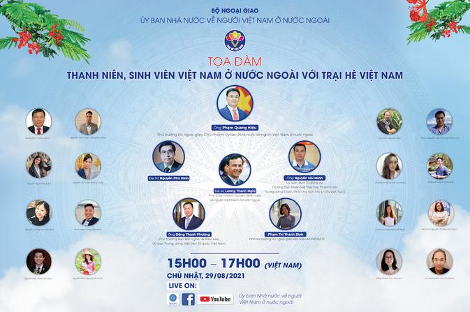 Tọa đàm: ''Thanh niên, sinh viên Việt Nam ở nước ngoài với Trại hè Việt Nam''