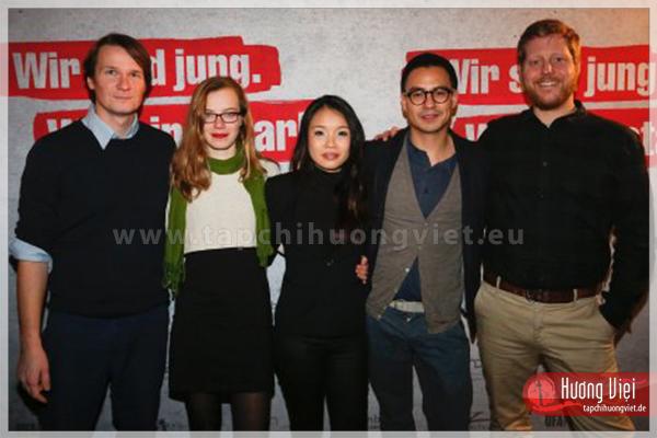 """Lê Hồng Trang - nữ diễn viên Việt ở Đức: """"Bộ phim góp tiếng nói để xóa đi phân biệt người nước ngoài ở Đức"""""""